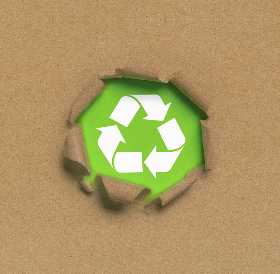 waste paper collection recycling